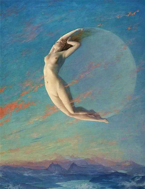 new moon Albert Aublet
