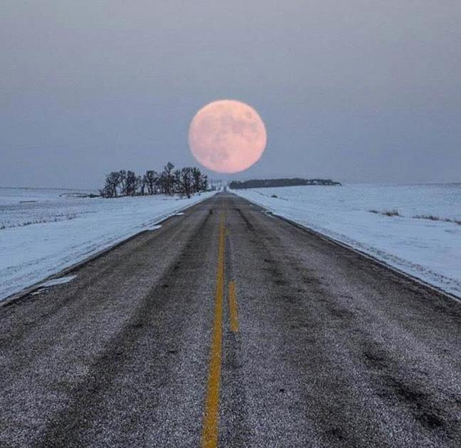 Highway to Moon, South Dakota, f/b Abandoned Places