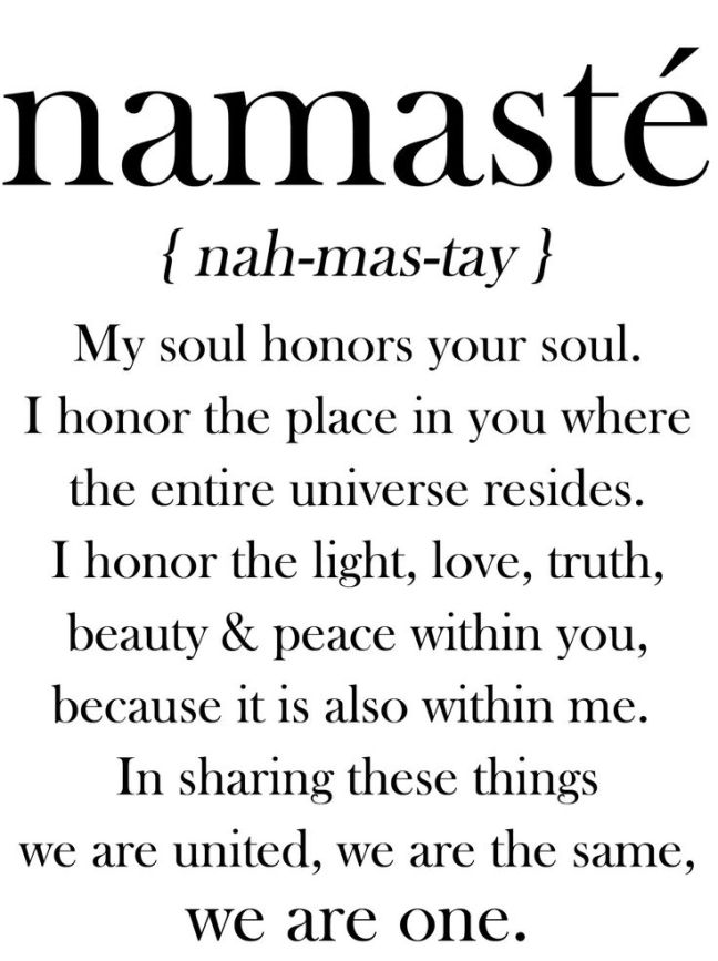 Image result for namaste image meaning